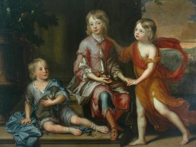 Children of the Howard Family by Godfrey Kneller