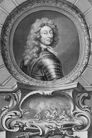 Frederick, Duke of Schomberg (1615-90) by Godfrey Kneller