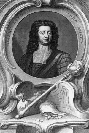 Henry Boyle, Lord Carleton, 1740 by Godfrey Kneller