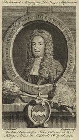 John Lord Somers, Lord High Chancellor of England by Godfrey Kneller