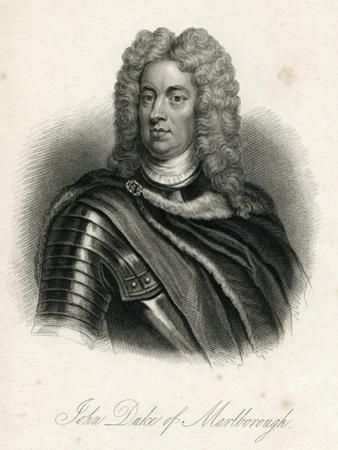 Portrait of John Churchill, 1st of Duke of Marlborough (1650-1722) by Godfrey Kneller
