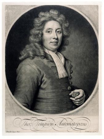 Portrait of Thomas Tompion by Godfrey Kneller