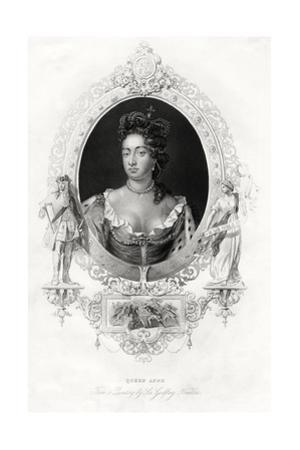 Queen Anne, 1860 by Godfrey Kneller