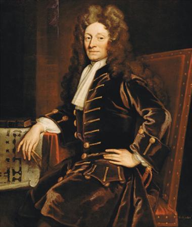 Sir Christopher Wren, 1711 by Godfrey Kneller
