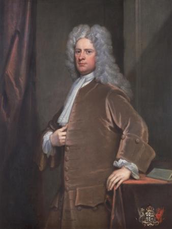William Clayton, 1719 by Godfrey Kneller