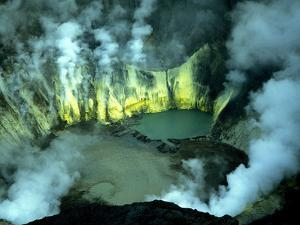 Bromo Volcano Crater on Java, Indonesia, Southeast Asia, Asia by Godong