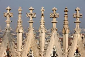 Detail of Duomo, Milan, Lombardy by Godong