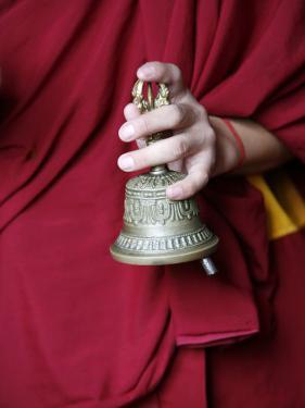 Gantha Tibetan Bell, Kathmandu, Nepal, Asia by Godong