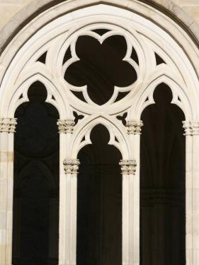 Gothic Architecture in Notre-Dame Church, St. Pere, Yonne, Burgundy, France, Europe by Godong