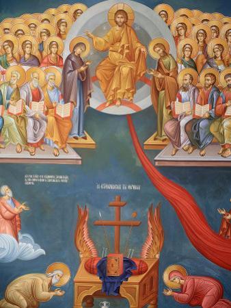 Greek Orthodox Icon, Thessaloniki, Macedonia, Greece, Europe
