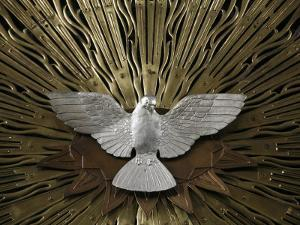 Heiliggeistkirche Church Holy Spirit Dove by Joseph Plecnik, Vienna, Austria, Europe by Godong