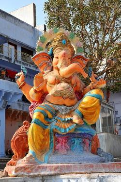 Hindu God Ganesh, India, Asia by Godong