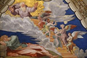 Jacob's Dream, Room of Heliodorus, Vatican Museum, Vatican, Rome, Lazio, Italy, Europe by Godong