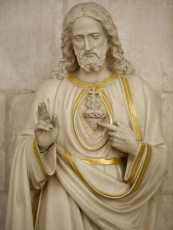 Jesus's Sacred Heart, Auxerre, Yonne, Burgundy, France, Europe