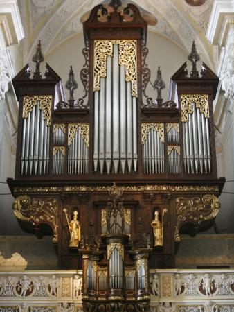 Klosterneuburg Abbey Organ, Klosterneuburg, Austria, Europe