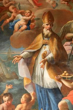 Life of St. Nicolas, Bishop of Myra, St. Nicolas de Veroce church, Haute Savoie, France by Godong