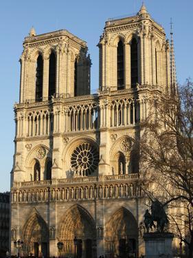 Notre-Dame de Paris Cathedral, Paris, France, Europe by Godong