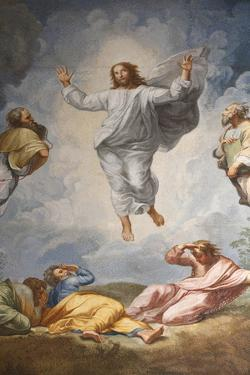 Raphael's Oil Painting of the Resurrection of Jesus Altar of the Transfiguration Altarpiece by Godong