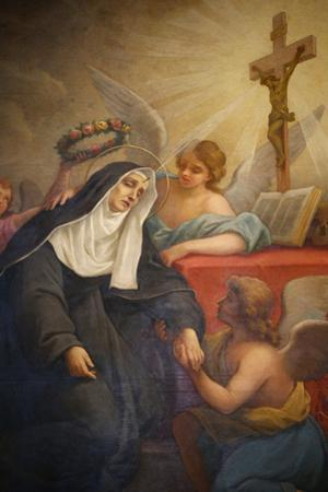 Rita of Cascia, Patron Saint of the Impossible, Abused Wives and Widows