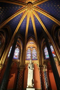 St. Louis Ix Commonly St. Louis, the Holy Chapel, Paris, France, Europe by Godong