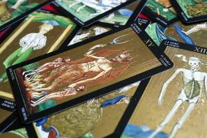 The devil, tarot card, France by Godong