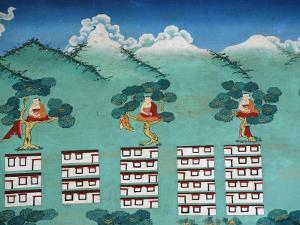 The Myth of Shangri La, Kopan Monastery, Kathmandu, Nepal, Asia by Godong