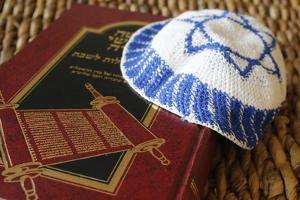 Torah and Kippah, France by Godong