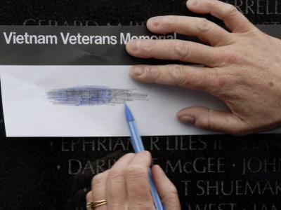 Vietnam Memorial, Washington D.C., United States of America, North America by Godong