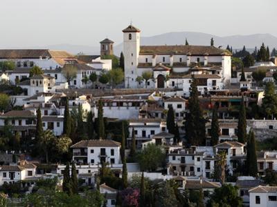 View of the Albaicin, Granada, Andalucia, Spain, Europe