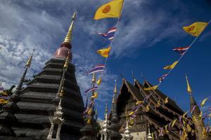 Wat Phan Tao, Chiang Mai, Thailand, Southeast Asia, Asia by Godong