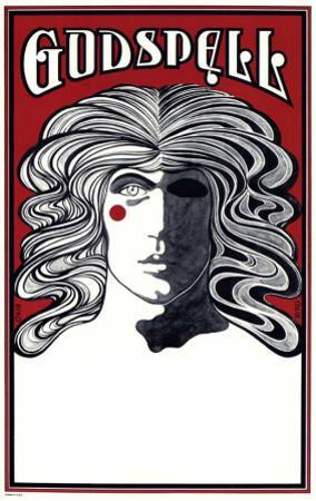 Godspell - Broadway Poster