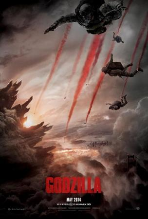 Godzilla Double Sided Advance Movie Poster