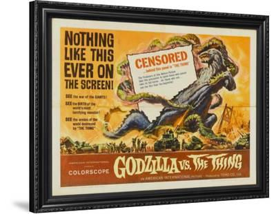 Godzilla vs. the Thing--Framed Poster
