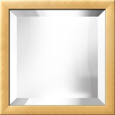 Gold Bevel Mirror