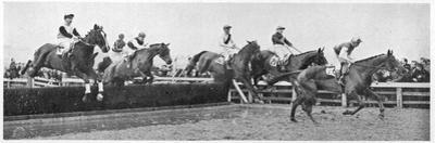 Gold Cup Day at Cheltenham, 1945
