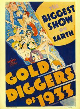 Gold Diggers of 1933, Window Card, 1933
