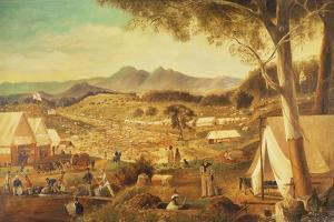 Gold Diggings, Ararat, 1853 by J Roper