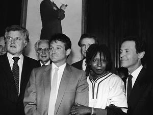 Whoopi Goldberg and Her Comic Relief Cohorts, March 12, 1986 by Goldberg Sorrell