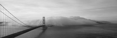 Golden Gate Bridge and Fog San Francisco Ca