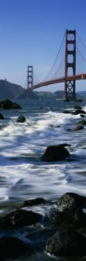 Golden Gate Bridge, Baker Beach, San Francisco, California, USA