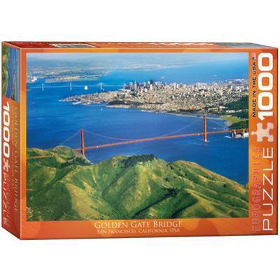 Golden Gate Bridge California 1000 Piece Puzzle