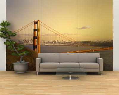 Golden Gate Bridge, San Francisco, California, USA. Wall Mural U2013 Large Part 37