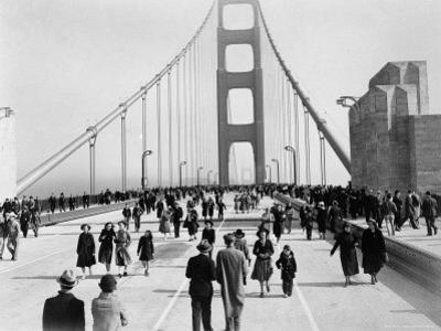 Golden Gate Opening, San Francisco, California, c.1937