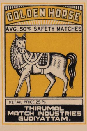 Golden Horse Avg. 50's Safety Matches