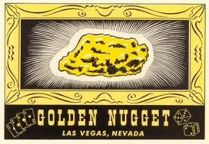 Golden Nugget Logo, Las Vegas, Nevada