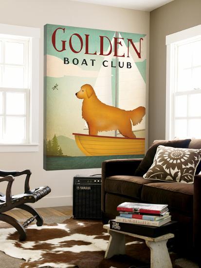 Golden Sail-Ryan Fowler-Loft Art