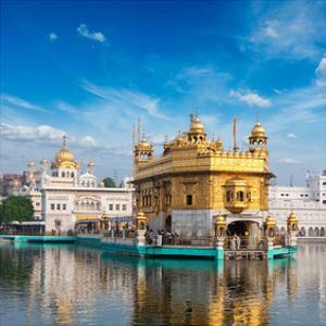 Golden Sikh Gurdwara Temple