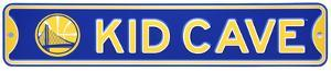 Golden State Warriors Steel Kid Cave Sign
