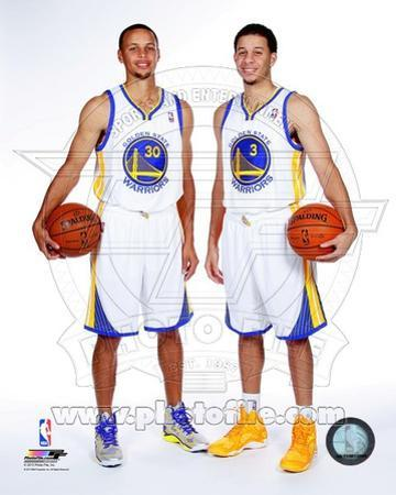 Golden State Warriors - Stephen Curry, Seth Curry Photo