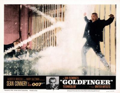 Goldfinger, from Left, Sean Connery, Harold Sakata, 1964